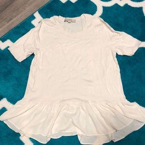 Ann Taylor LOFT Knit Shirt with Waist Detail